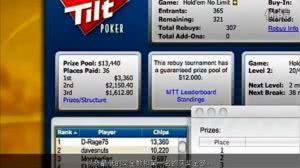 德州扑克视频教程(十四)可重购筹码锦标赛攻略
