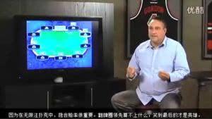 德州扑克视频教程(十八)通过下注数额了解对手牌力