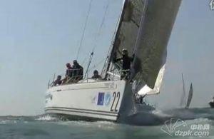 2011第五届中国杯帆船赛 10月29日迎风逆风赛