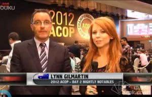 2012年ACOP主赛事第2轮 APPT总裁采访