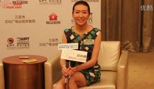 2013WPT中国站杨曦坦言:线上玩家你们还是留在线上吧
