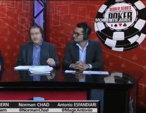 "2013WSOP主赛事最终桌04:""魔术师""Antonio解说8人桌"