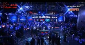 2013WSOP主赛事单挑桌04:冠军终于产生了