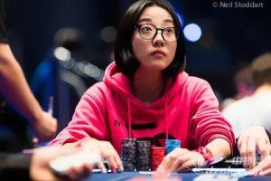 萌妹纸朱亚希在EPT主赛事接受扑克之星采访