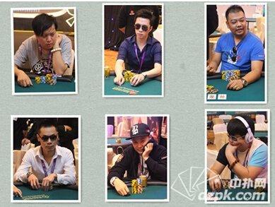 2014WPT中国站决赛桌选手