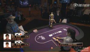 2014TPT腾讯扑克锦标赛Final Table第二期