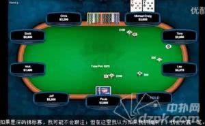 德州扑克视频教程(十五)快速锦标赛攻略