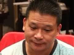 著名德州扑克选手Johnny Chan