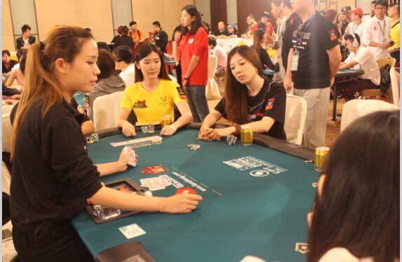 2014WPT中国赛团队赛现场1