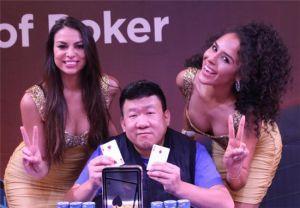 WPT菲律宾站冠军蔡颖霖:针对牌手调整打法