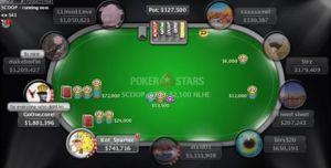 高额桌转牌中花 三人池下小注、过牌或下大注?