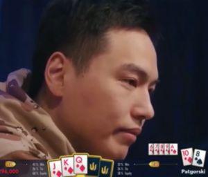 【辣眼视频・中字】2019传奇扑克济州岛超豪赛上的两把皇同 臧书奴心里苦啊