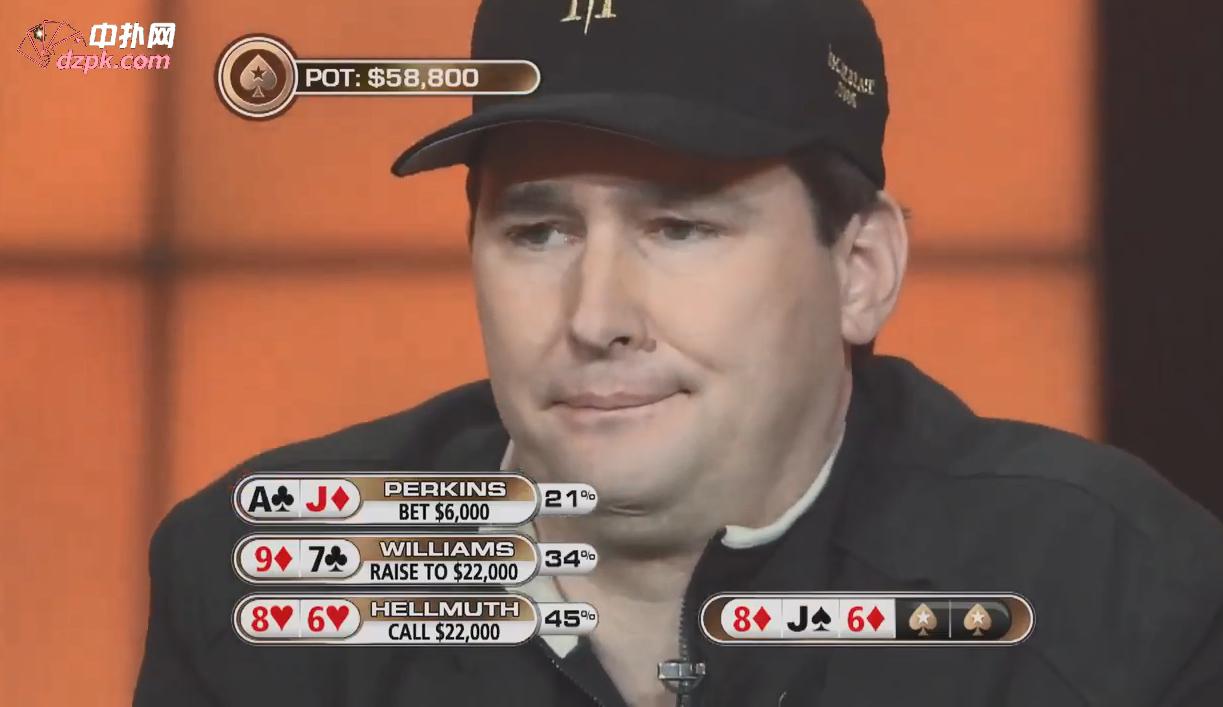 """【辣眼视频·中字】Phil Hellmuth想打的对手跑了,对方还嘴硬,""""我真有牌"""""""