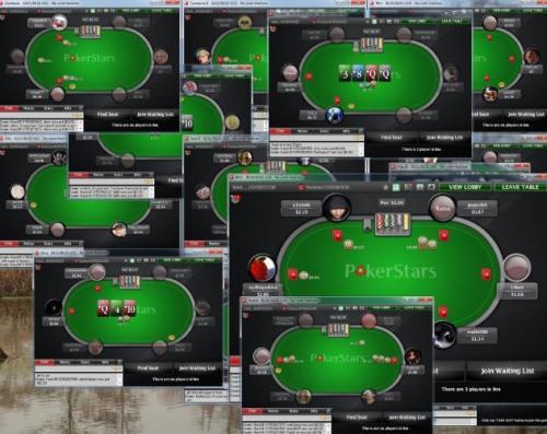 喜欢在PS靠开多桌挣钱的玩家药丸,平台的开桌数上限变了