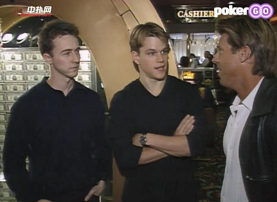 """【辣眼视频】《赌王之王》""""前传"""",两位主角第一次感受真正的WSOP就输得惊天动"""