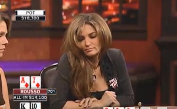 【辣眼视频】花顺双听牌面女牌手居然这样玩听顺,纯送钱让对手一脸懵逼