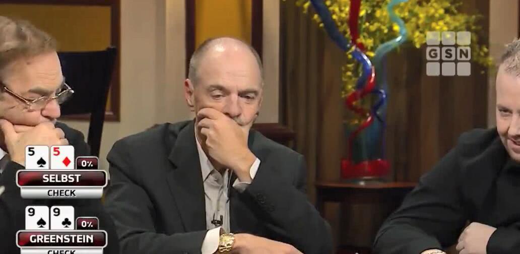 【辣眼视频】老板Bill顶对演同花,打得这么好谁知碰到职牌这样硬刚