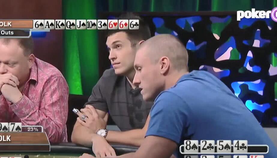 【辣眼视频】Doug Polk听同花顺全下发4次牌,看到结果全桌人都惊呆了