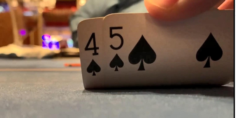 【辣眼视频】5嗨河牌骚操作超自信,谁知道刚来就输完150BB,牌手反应出乎意料