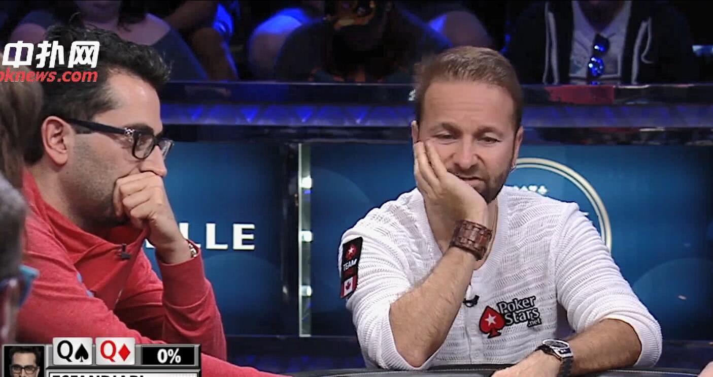 【辣眼视频】大无语!100万买入比赛顶两对和高对到河牌居然都不打?